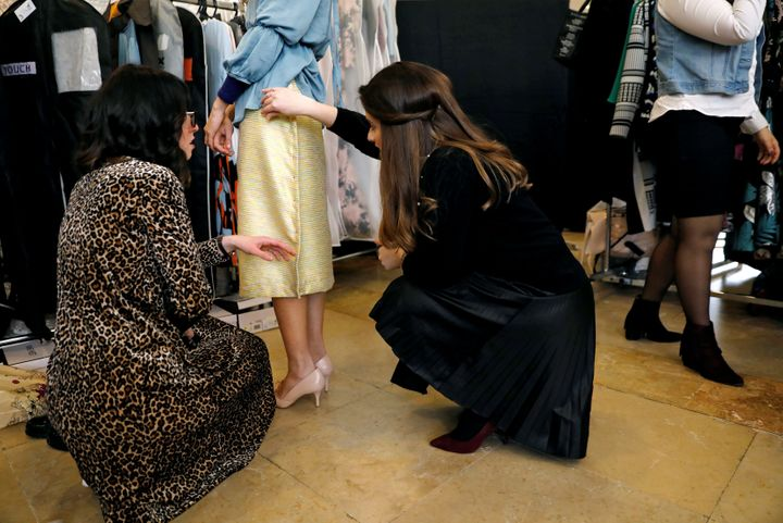 More images from backstage.