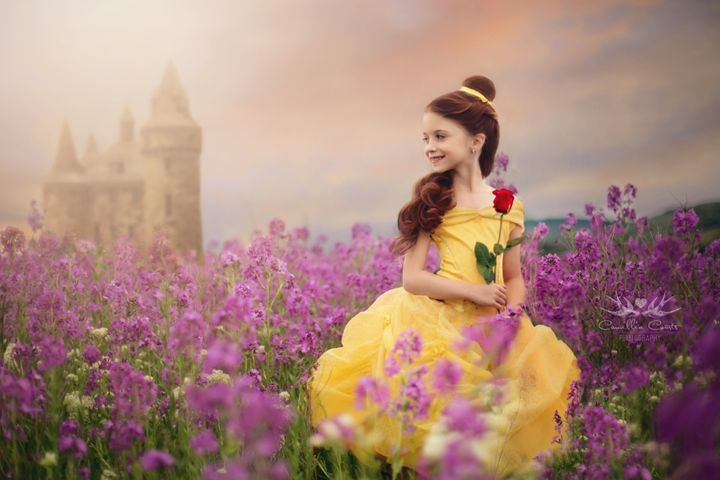 Camillia Courts has been photographing her daughter, Layla, as different Disney characters for more than two years.