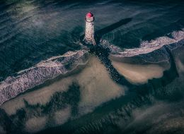 This Stunning Photo Of A Welsh Lighthouse Was Captured Using A Drone