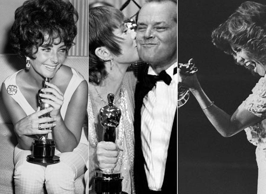 31 Stunning Vintage Photos From The Oscars Through The