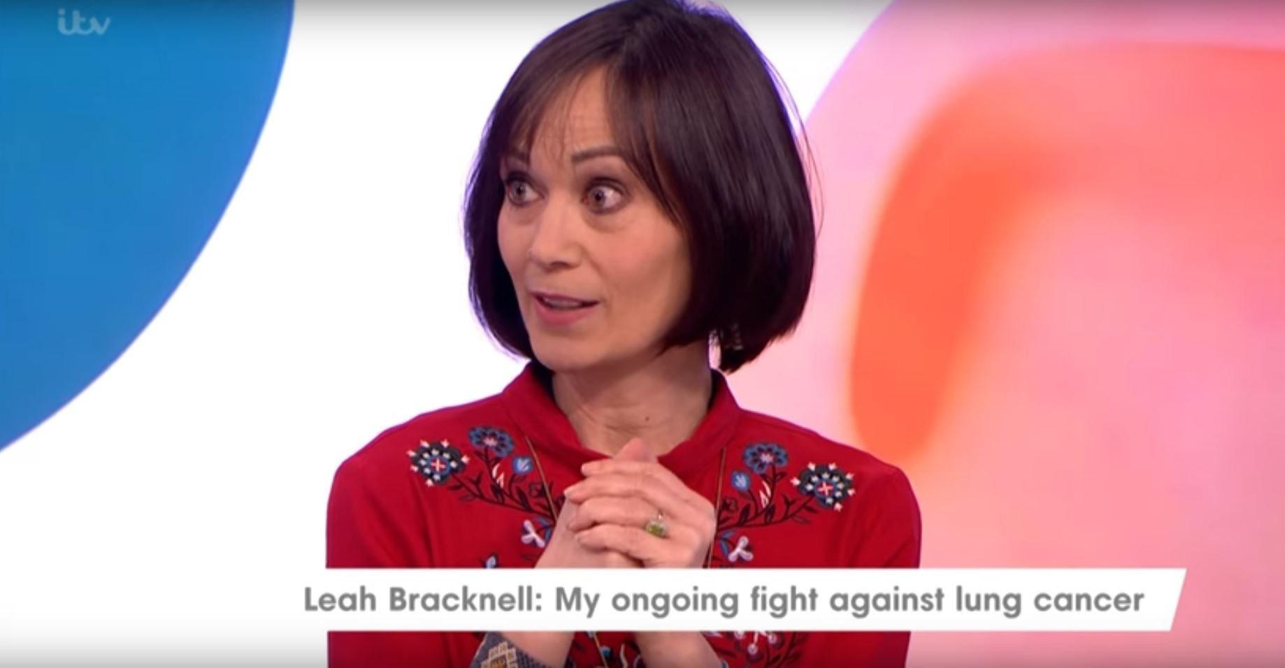Leah Bracknell Explains How Terminal Cancer Diagnosis Had A Positive Impact On Her Life