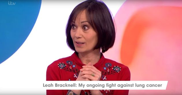 Leah Bracknell has been diagnosed withstage four lung