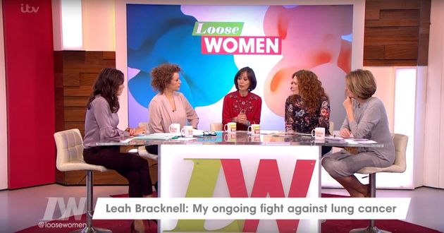 Leah appeared on Friday's 'Loose