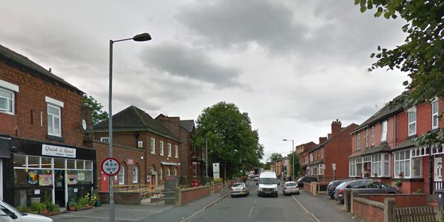 Police were called to reports of a man with a gun in Albert Road,