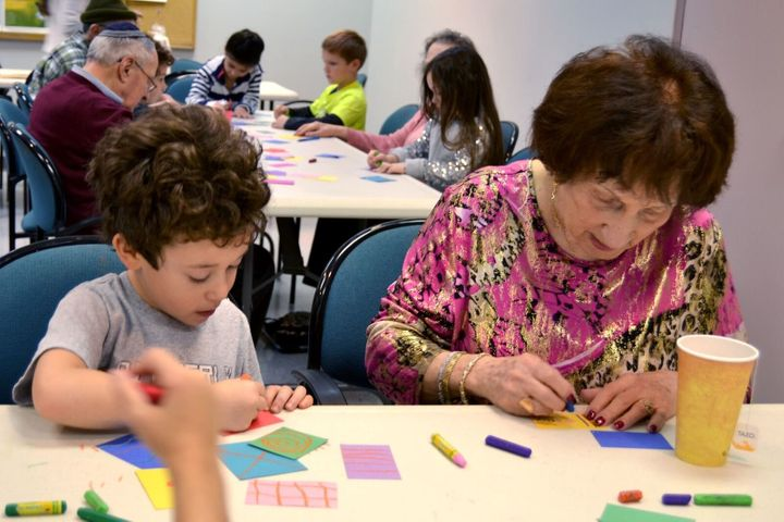 People of ages take classes at their local Jewish Community Center.