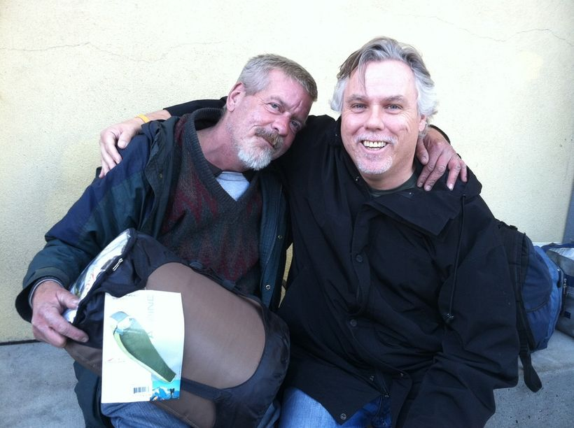 """Me as an outreach worker with Lanny, who we were able to get into housing. <a rel=""""nofollow"""" href=""""https://youtu.be/oMg9fc_bO"""