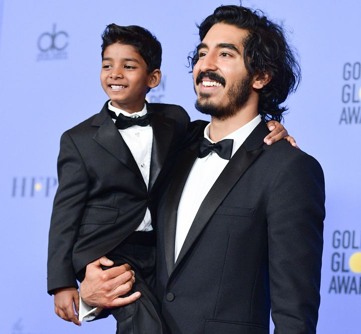 Oscars 2017: Kimmel Recreates 'Lion King' Moment With Sunny Pawar