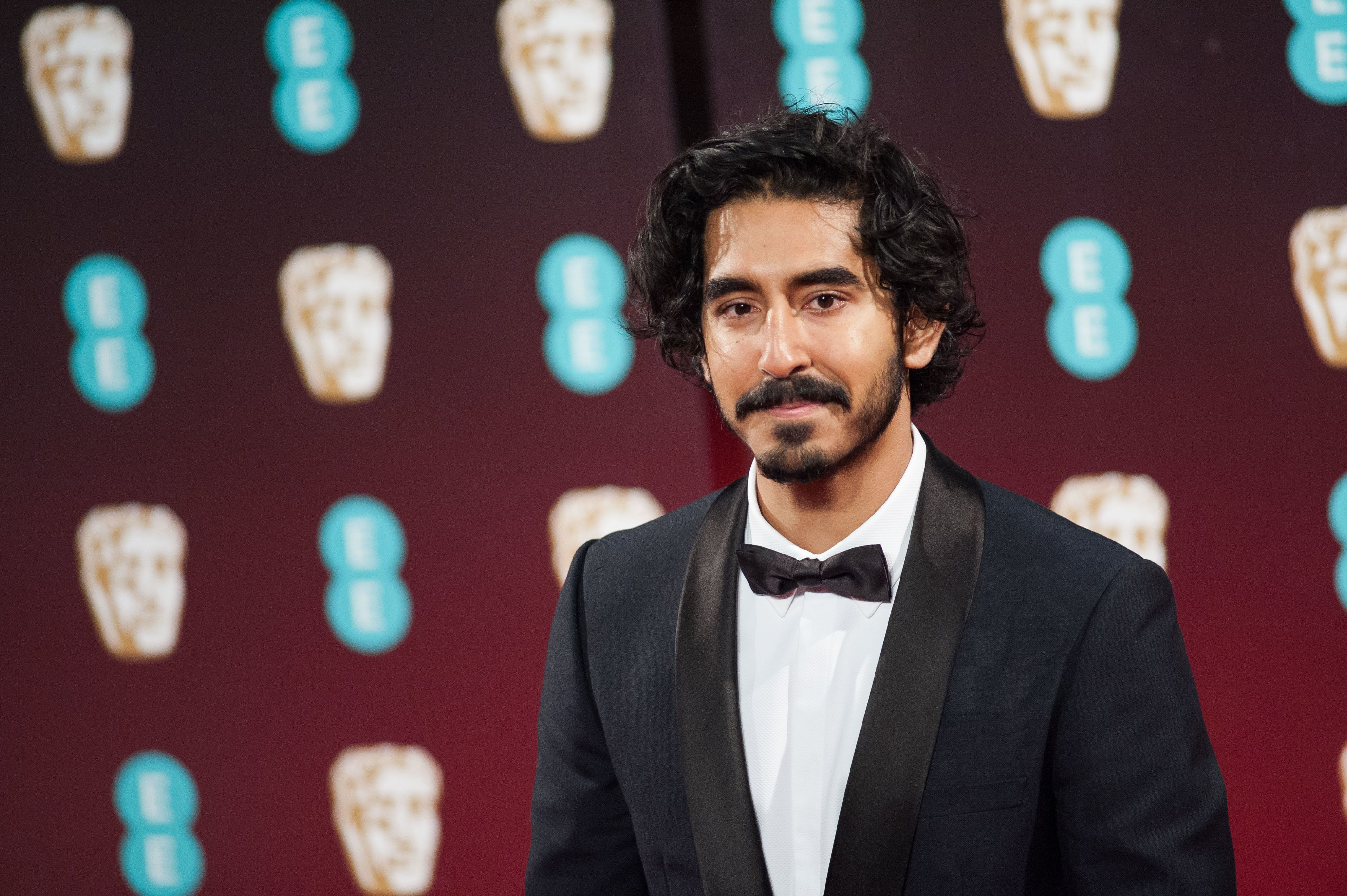 LONDON, UNITED KINGDOM - FEBRUARY 12: Dev Patel attends the 70th British Academy Film Awards (BAFTA) ceremony at the Royal Albert Hall on February 12, 2017 in London, England.  PHOTOGRAPH BY Wiktor Szymanowicz / Barcroft Images  London-T:+44 207 033 1031 E:hello@barcroftmedia.com - New York-T:+1 212 796 2458 E:hello@barcroftusa.com - New Delhi-T:+91 11 4053 2429 E:hello@barcroftindia.com www.barcroftimages.com (Photo credit should read Wiktor Szymanowicz / Barcroft Im / Barcroft Media via Getty Images)