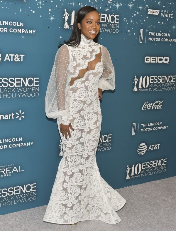 "Actress Aja Naomi King, honoree and star of ""How to Get Away With Murder."""