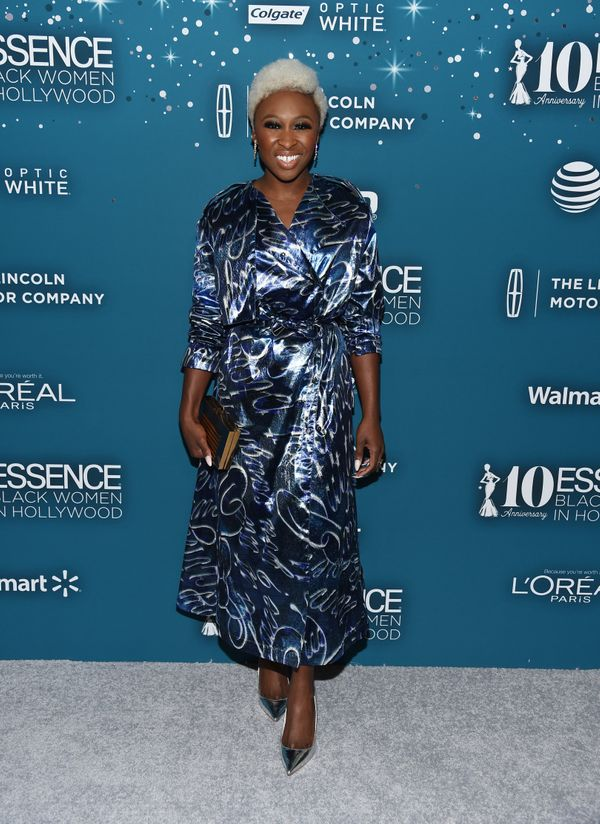 Broadway and screen actress Cynthia Erivo.