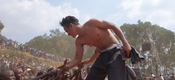 Cambodian Circus Troupe Performs For Refugees In Rwanda