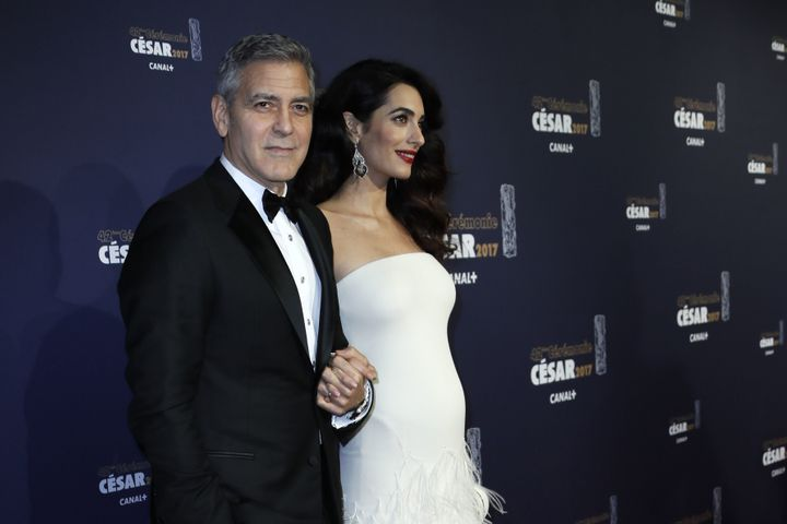 We're All Here For Pregnant Amal Clooney's Latest Style Statement