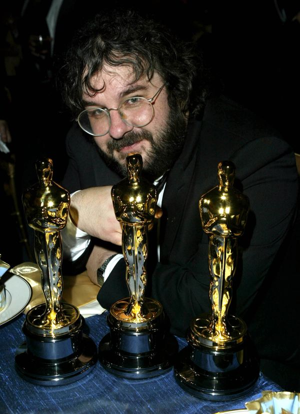 <strong>Feb. 29, 2004: </strong>Peter Jackson at the Governors Ball.