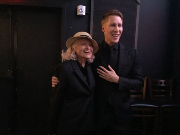 LGBTQ activist Edie Windsor and screenwriter Dustin Lance Black