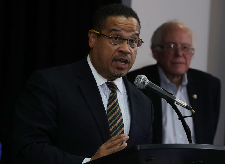 Rep. Keith Ellison (D-Minn.) has the support of Sen. Bernie Sanders (I-Vt.) in his bid to become Democratic Nationa