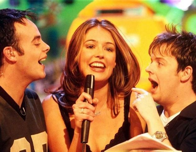 Ant Dec and Cat Deeley on SMTV Live