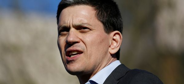 David Miliband Thinks Labour Is At Its Weakest In 50 Years Under Jeremy Corbyn