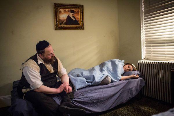 Menashe Lustig and Ruben Niborski in 'Menashe'