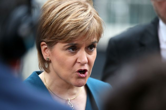 Nicola Sturgeon hit described the comments as 'spectacularly