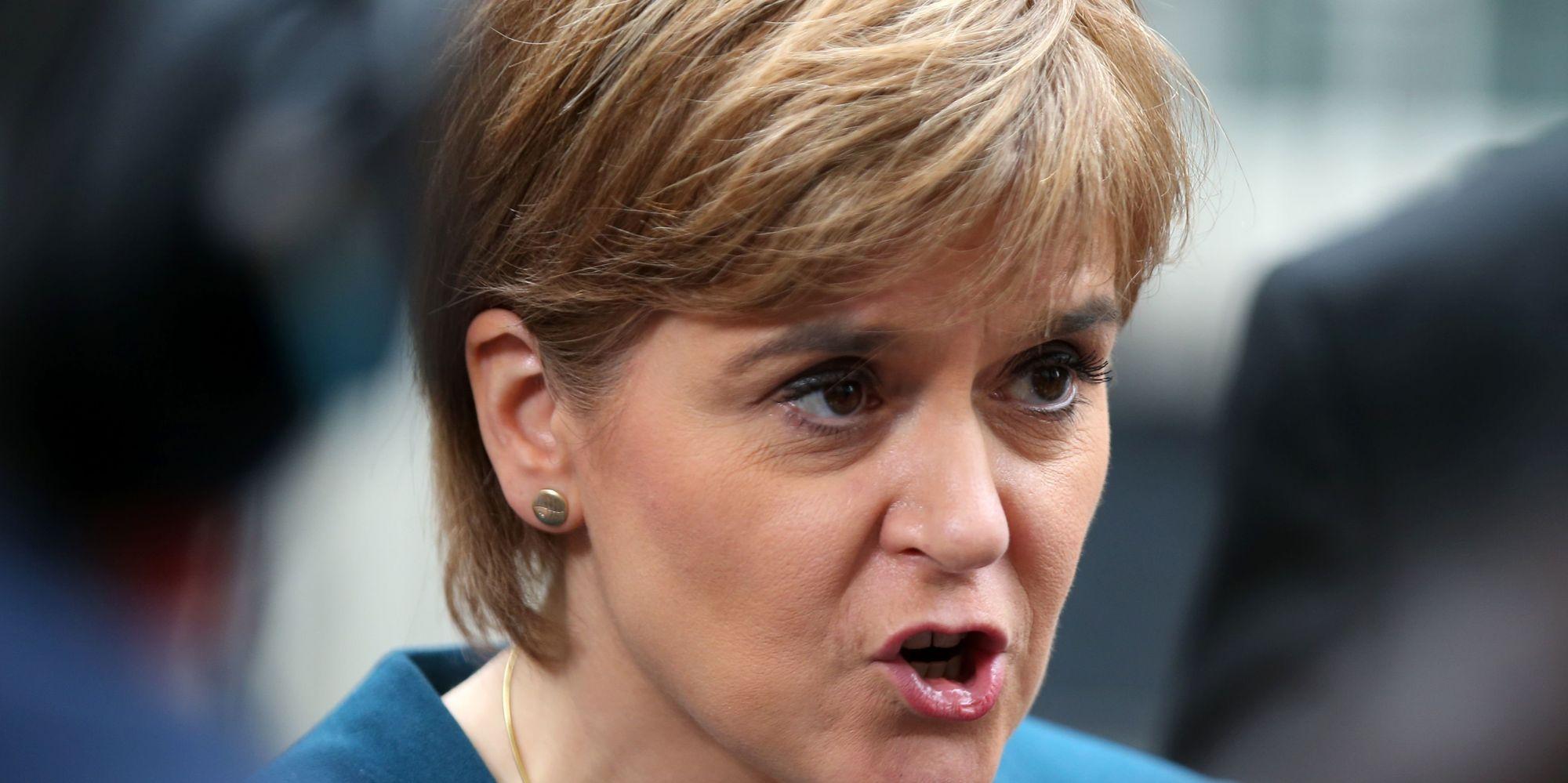 Nicola Sturgeon Hits Back At Sadiq Khan Over 'Spectacularly Ill-Judged' Nationalism Comments
