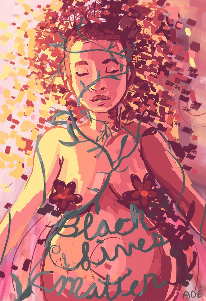 """Artwork by <a href=""""http://alyssaosasere.tumblr.com"""" target=""""_blank"""">Alyssa Osasere</a>"""