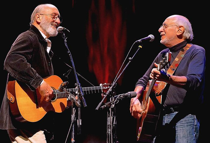 Peter Yarrow and Noel Paul Stookey of <i>Peter, Paul and Mary </i>