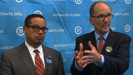 <em>Keith Ellison and Tom Perez</em>