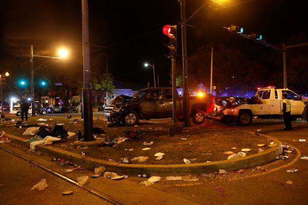 Truck Slams Into Mardi Gras Parade Crowd In New Orleans, Injuring