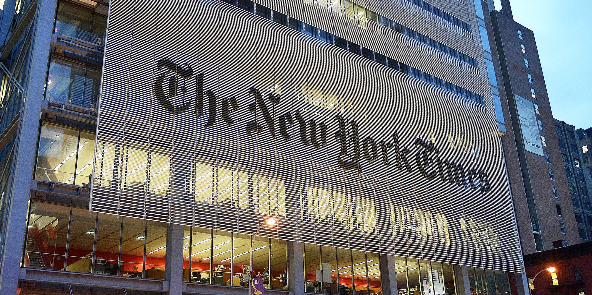 New York Times Running \'Truth Ad\' During Oscars