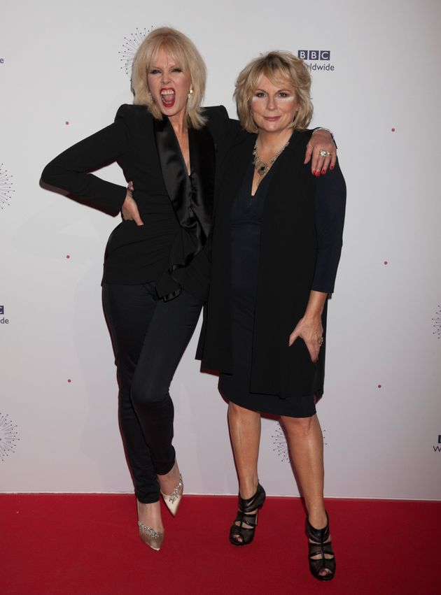 Joanna Lumley and Jennifer