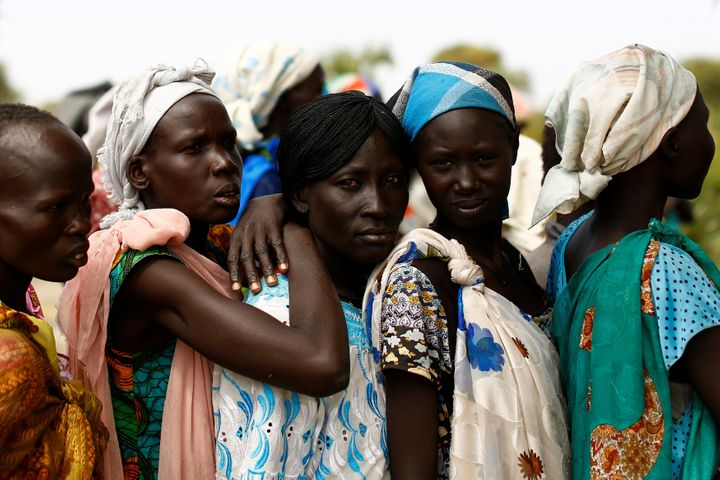 According to the UN,more than 100,000 people face imminent starvation.