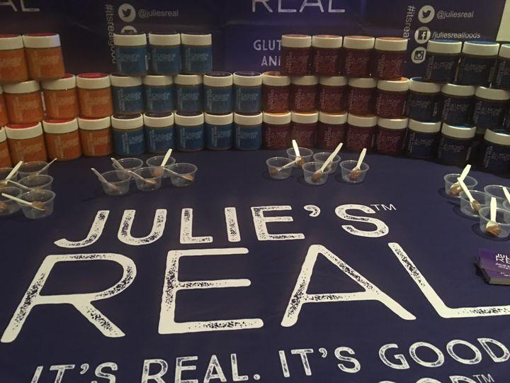 Julie's REAL nut butter