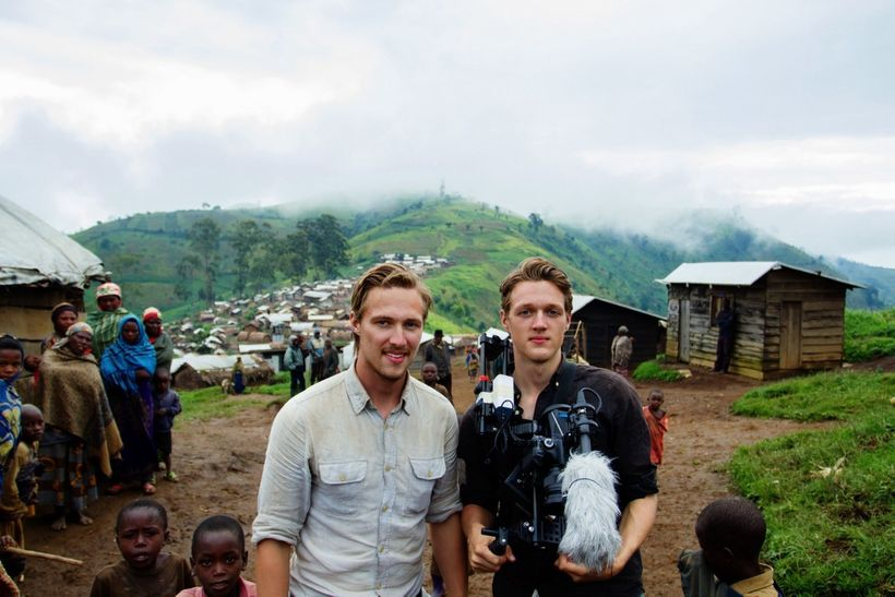 Dennis and Patrick Weinert in the Easter Democratic Republic of the Congo