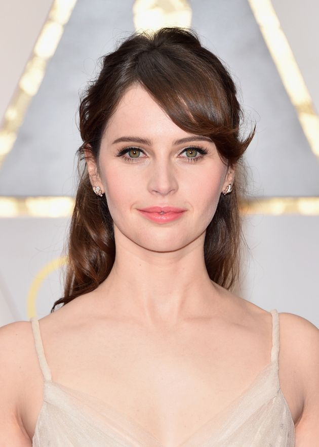 Oscars 2017 Felicity Jones Looked Like A Real Life Disney