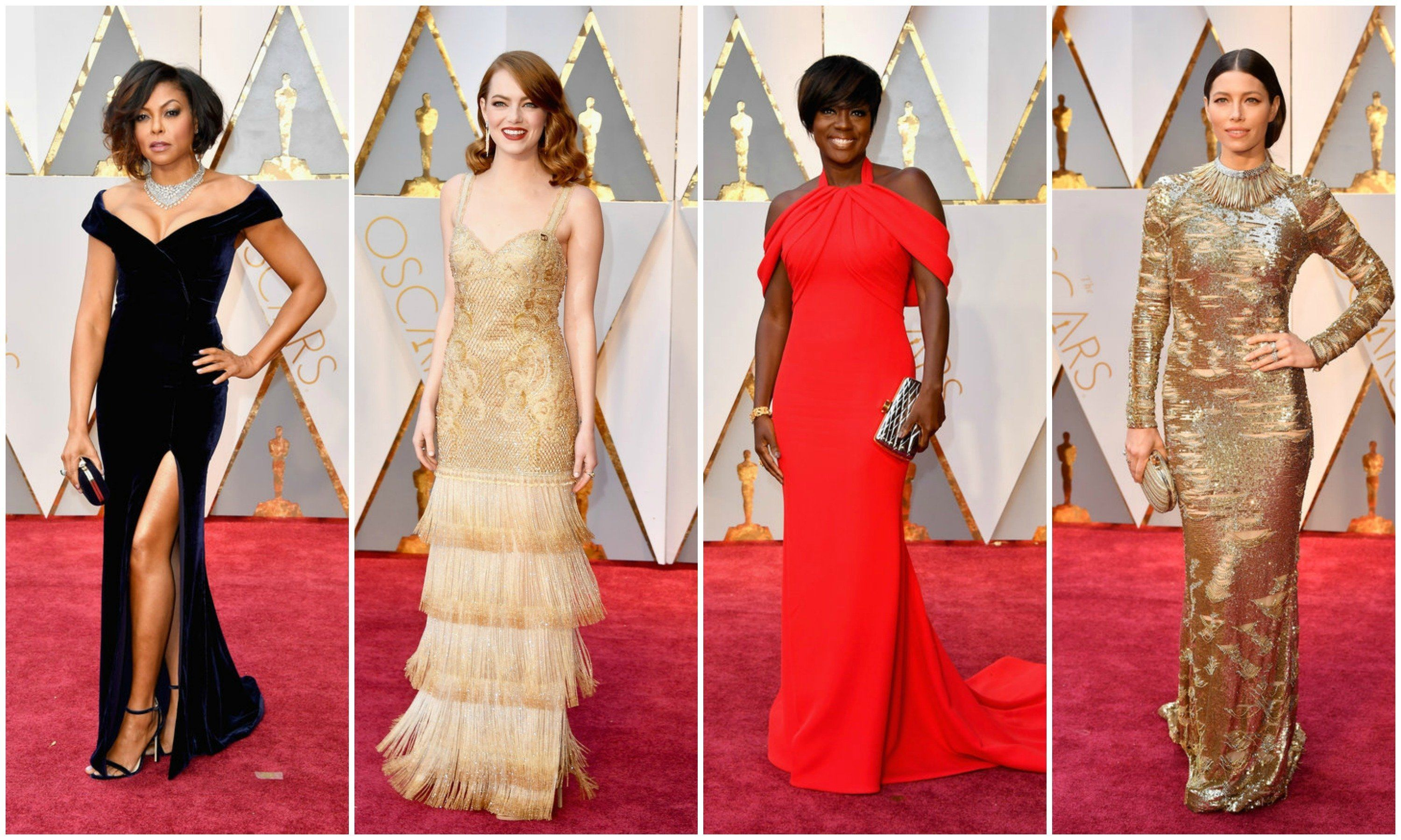 The Most Jaw-Dropping Looks From The Oscars Red
