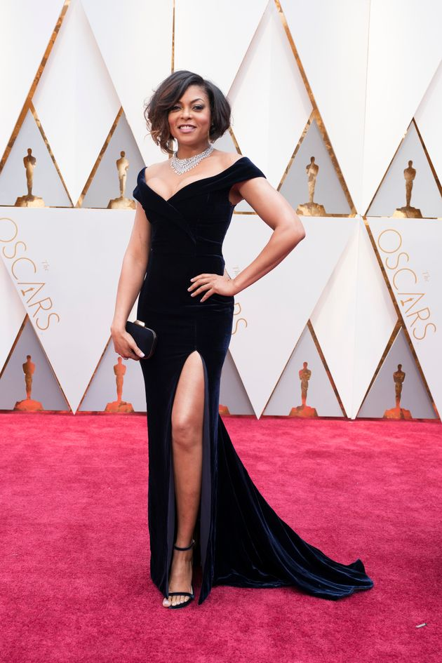 She was the biggest snub of the year, but that didn't stop Taraji going all