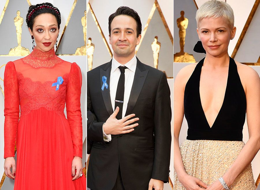 Ruth Negga Leads Stars Taking A Political Stand On The Oscars Red