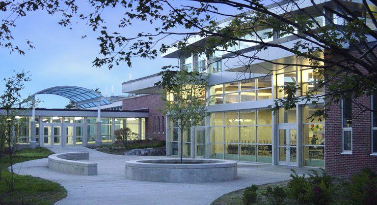 Newton South High School in Newton, MA