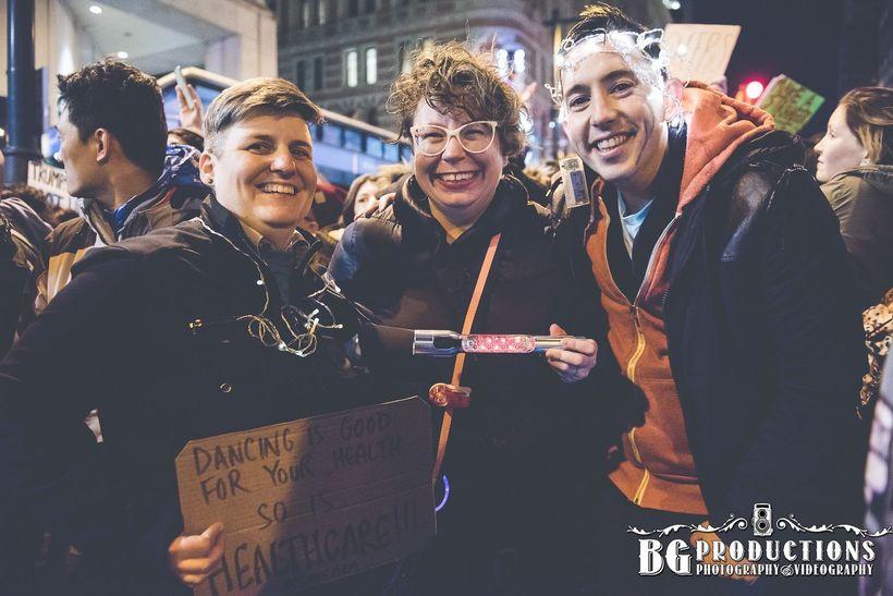 Queer Dance Party, Philadelphia, 1/25/17