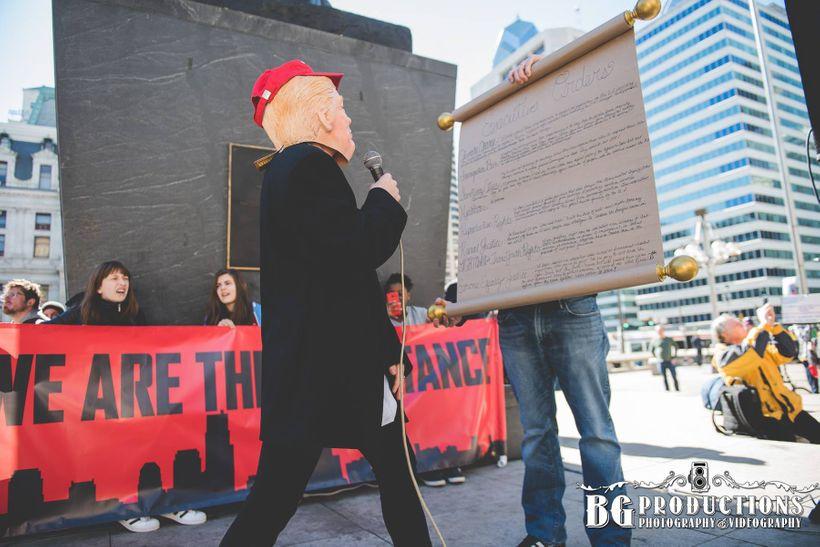 Not My President's Day Rally, Philadelphia, 2/20/17