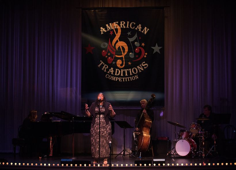 Dara Tucker Performing at the 2017 American Traditions Competition Finals