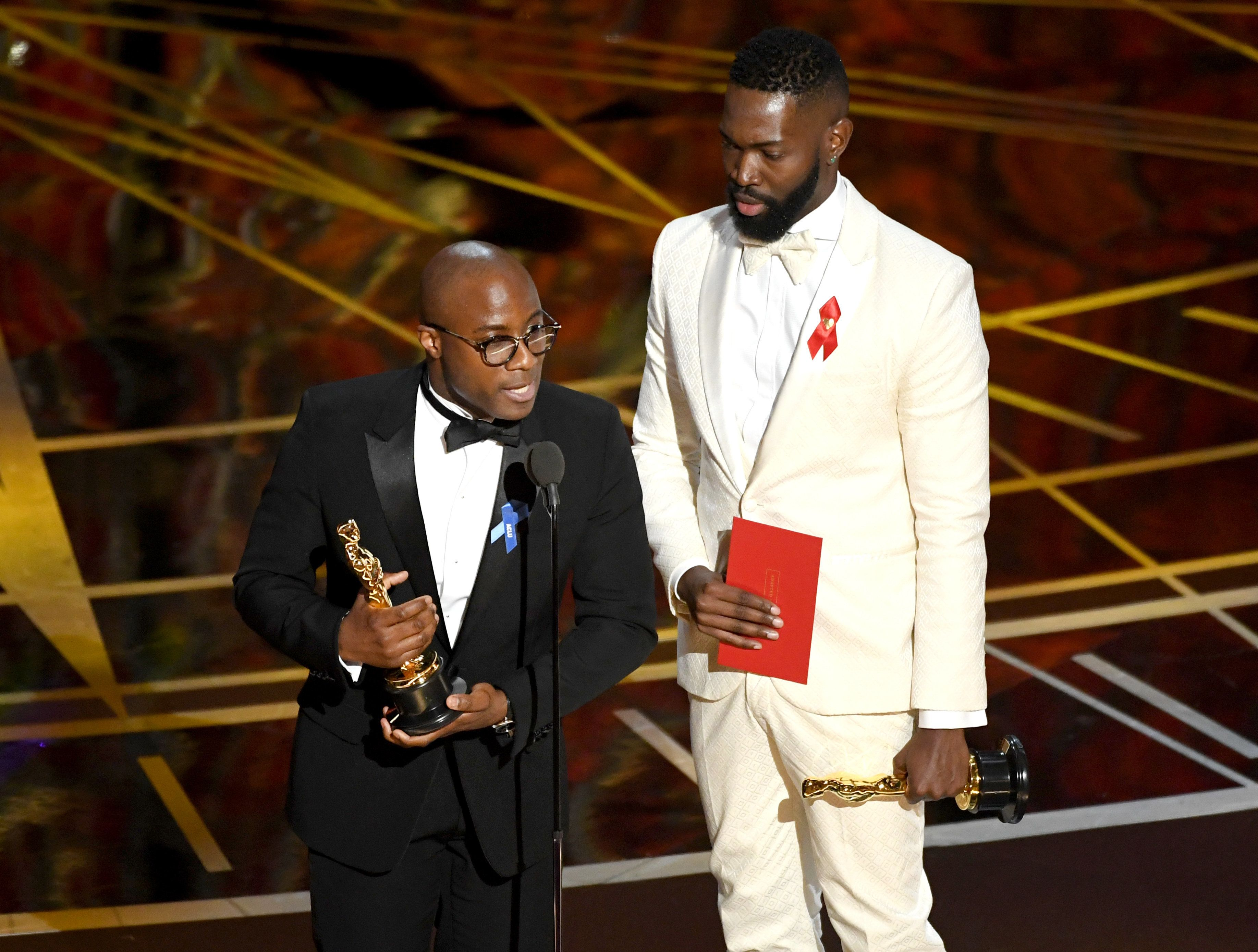 Barry Jenkins and Tarell Alvin