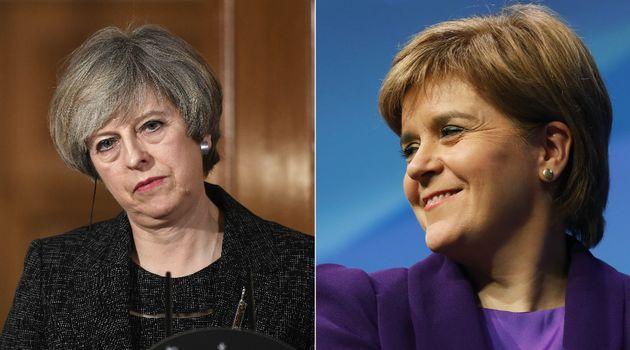 イギリスのメイ首相、EU離脱中にスコットランド独立の住民投票を警戒