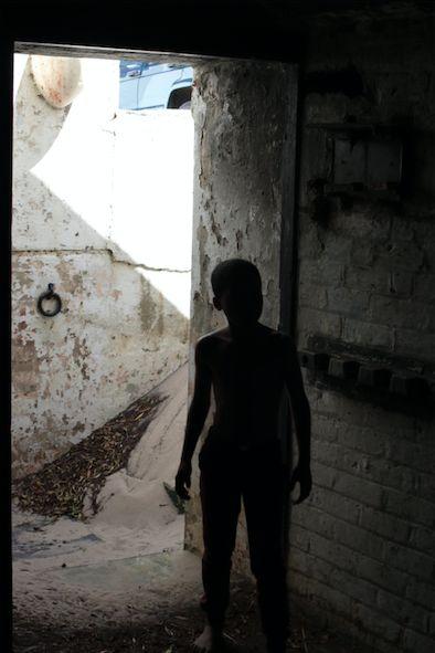 <em>My boy. Shadows and light. </em>