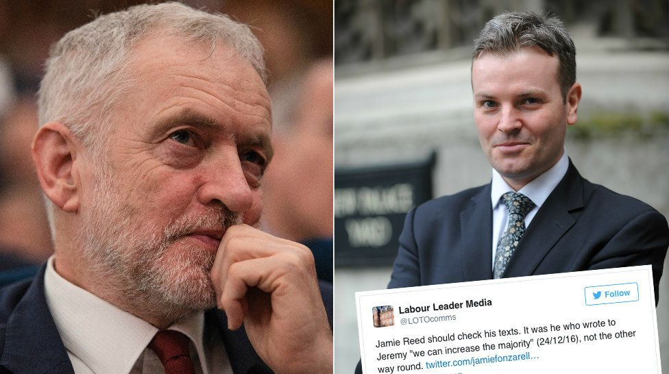 Jeremy Corbyn's media team have been criticised for hitting out at former Labour MP Jamie