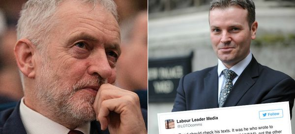 Corbyn's Media Team Provokes Dismay With Very Public Rebuke Of Former MP