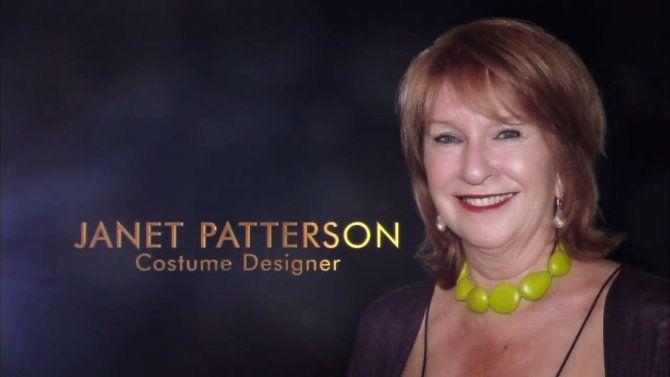 A photo ofJan Chapman was used duringJanet Patterson's Oscars