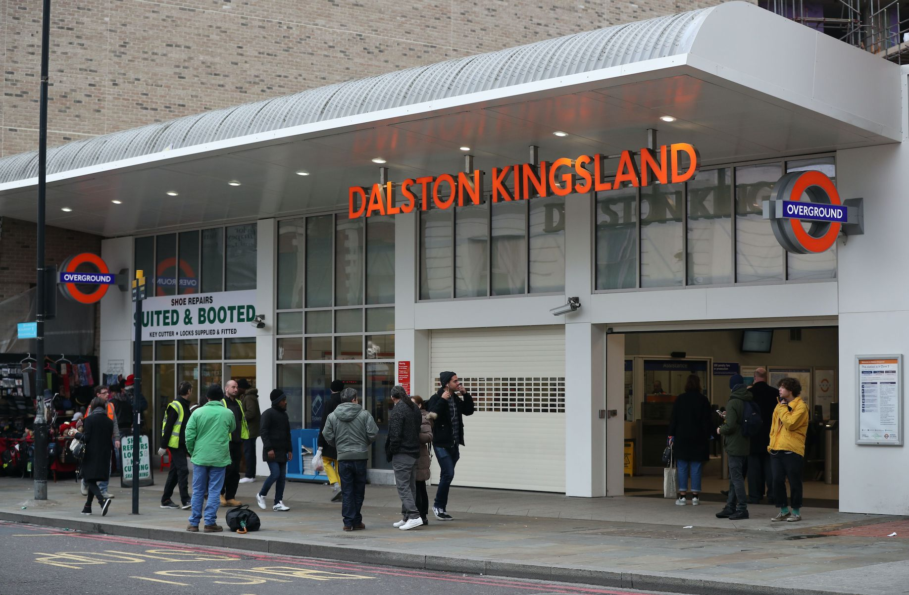 A man armed with a meat clever alleged stabbed another man in the head in Dalston, east