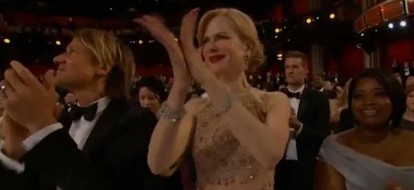 OK, We Need To Talk About Nicole Kidman's Oscars Applause For A Minute