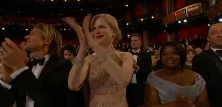 OK, We Need To Talk About Nicole Kidman's Oscars Applause For A